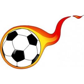 Naklejka ścienna dekoracyjna D69 piłka nożna O