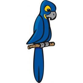 Naklejka ścienna dekoracyjna D91 papuga O