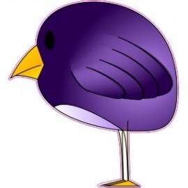 Naklejka ścienna dekoracyjna D95 ptak O
