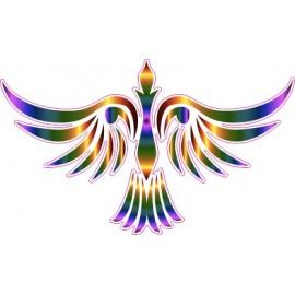 Naklejka ścienna dekoracyjna D97 ptak O