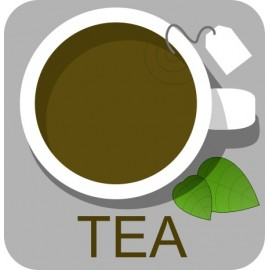 Naklejka ścienna dekoracyjna D130 herbata O