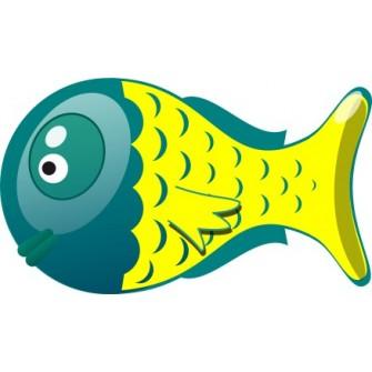 Naklejka ścienna dekoracyjna D144 ryba O
