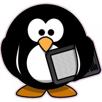 Naklejka ścienna dekoracyjna D171 pingwin O