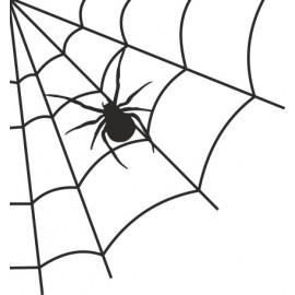 Naklejka ścienna, na ścianę, dekoracyjna N26 pająk