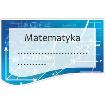 Naklejka na zeszyt SZ10 Matematyka