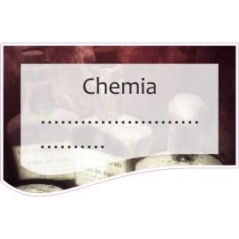 Naklejka na zeszyt SZ14 Chemia