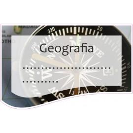 Naklejka na zeszyt SZ21 Geografia