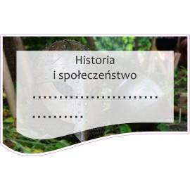 Naklejka na zeszyt SZ25 Historia i społeczeństwo