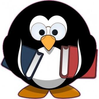 Naklejka ścienna dekoracyjna D185 pingwin O
