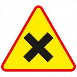 Znak drogowy A-5 Skrzyżowanie dróg równorzędnych