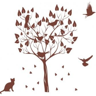 Naklejka dekoracyjna - SF 01 drzewo