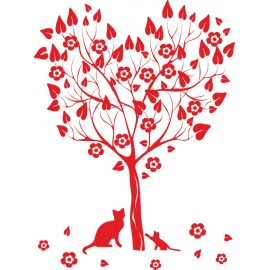 Naklejka dekoracyjna - SF 03 drzewo