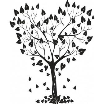 Naklejka dekoracyjna - SF 04 drzewo