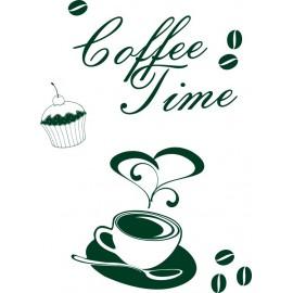 Naklejka dekoracyjna SF11 kawa