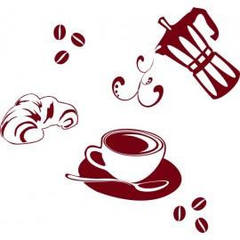 Naklejka dekoracyjna SF12 kawa