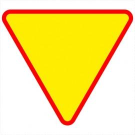 Znak drogowy A-7 Ustąp pierwszeństwa