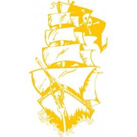 Naklejka wycinana N113 statek