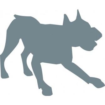 Naklejka wycinana N120 pies