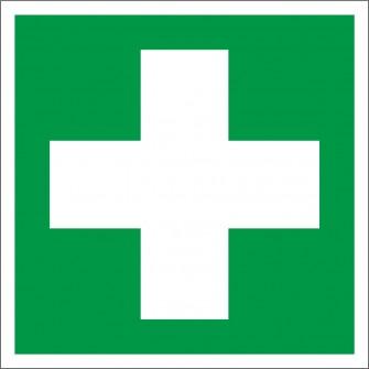 naklejka pomoc medyczna, apteczka