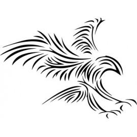 Naklejka ścienna, na ścianę, dekoracyjna N102 ptak