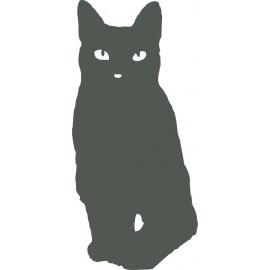 Naklejka ścienna, na ścianę, dekoracyjna N126 kot