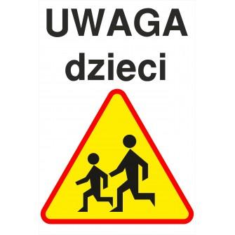 tabliczka Uwaga dzieci UD01