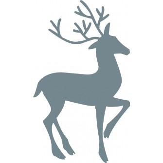 Naklejka ścienna, na ścianę, dekoracyjna N232 jeleń
