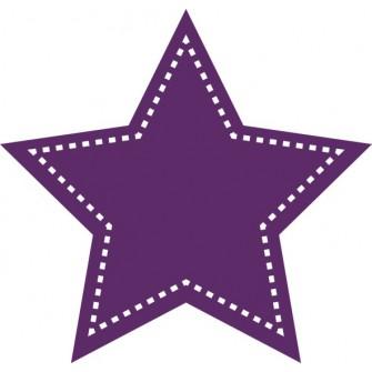 Naklejka ścienna, na ścianę, dekoracyjna N254 gwiazdka