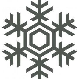 Naklejka ścienna, na ścianę, dekoracyjna N262 płatek śniegu