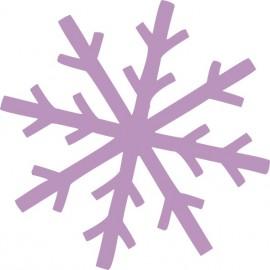 Naklejka ścienna, na ścianę, dekoracyjna N265 płatek śniegu