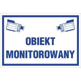 Naklejka obiekt monitorowany OM02