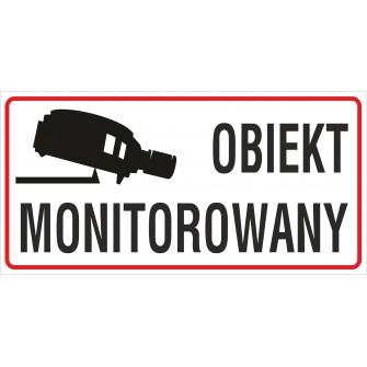 naklejka INZ16 obiekt monitorowany