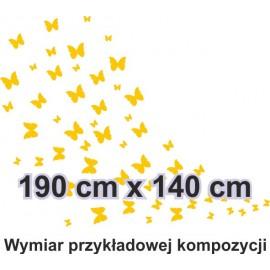 Naklejka dekoracyjna - SF28 motyle