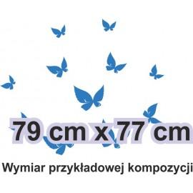 Naklejka dekoracyjna - SF29 motyle