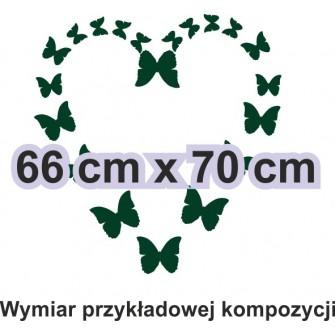 Naklejka dekoracyjna - SF30 motyle