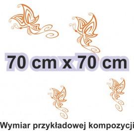 Naklejka dekoracyjna - SF31 motyle