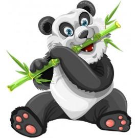 Naklejka ścienna dekoracyjna D272 panda