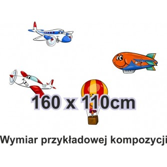 Naklejka ścienna SD25 samoloty