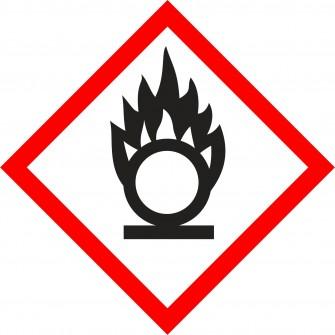 naklejka GHS03 - Substancje utleniające