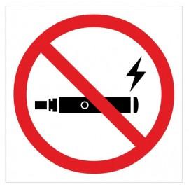 Naklejka ZPE03 Zakaz palenia e-papierosów