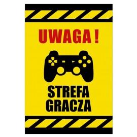 Tabliczka Uwaga Streafa Gracza USGE01