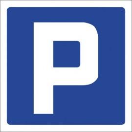 Znak drogowy D-18 parking