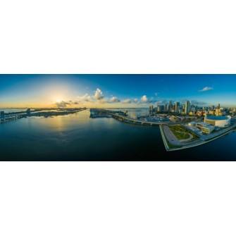 Fototapeta Panorama Most 270x100 cm FTE04 - klej gratis