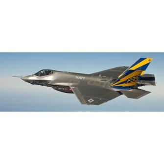 Fototapeta Samolot F-35 276x100 cm FTE05 - klej gratis