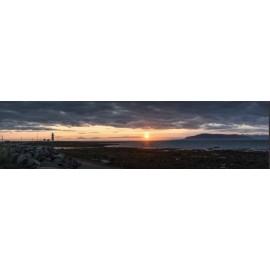 Fototapeta Panorama wybrzeża 400x100 cm FTE13 - klej gratis