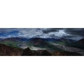 Fototapeta Panorama Gór 300x100 cm FTE16 - klej gratis