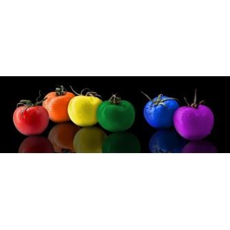 Fototapeta Kolorowe Pomidory 300x100 cm FTE25 - klej gratis
