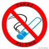 naklejka zakaz palenia 002