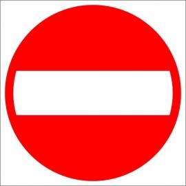 Znak drogowy B-2 Zakaz wjazdu
