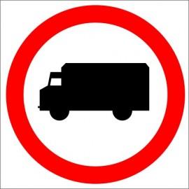 B-5 Zakaz wjazdu samochodów ciężarowych